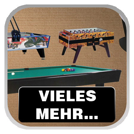 Airhockey, Billard, Tischfußball, Kicker, Photo Play
